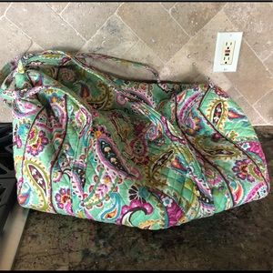 Vera Bradley large travel duffle bag